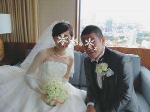 綺麗な花嫁姿